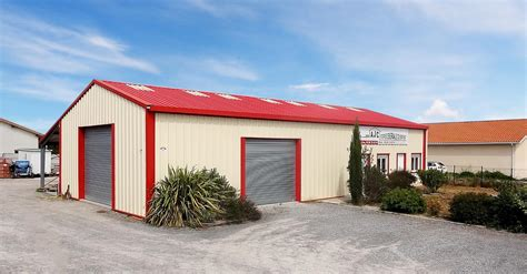 hangar metallique construction de hangars m 233 talliques d 233 montables en kit
