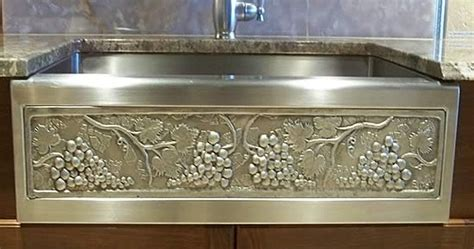Hammered Copper Sinks: Apron Front Copper Sinks