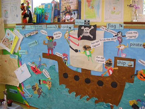 pirate themed classroom decorations nautical themed classrooms clutter free classroom
