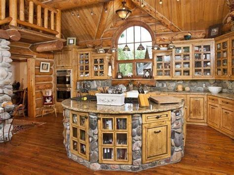circular kitchen island log cabin kitchen island for our house