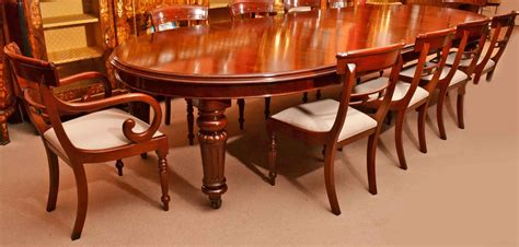 10 place dining table regent antiques dining tables and chairs table and