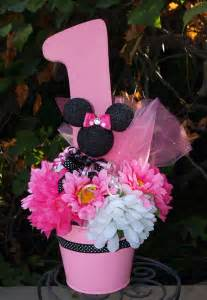minnie mouse centerpiece ideas minnie mouse birthday center by cadizboutique on etsy