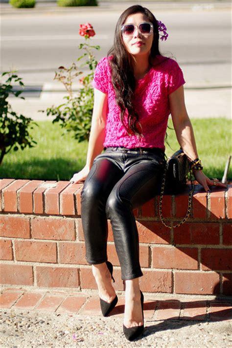 pink embroidered zara tops beige h m sunglasses