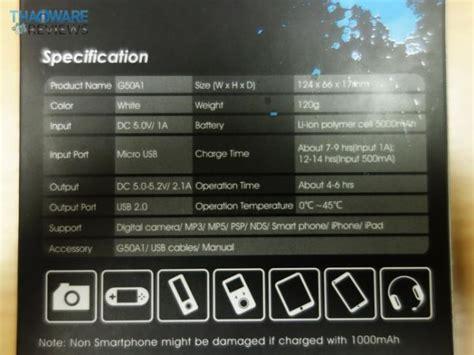 Gigabyte Power Bank Otg G50a1 5000mah ร ว ว gigabyte otg series g50a1 แบตฯสำรองด ไซน ส ดเฉ ยว บางเบา พกพาง าย