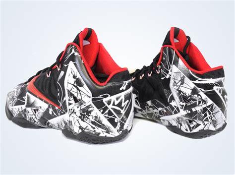 lebron shoes 2014 for lebron 11 graffiti sneakernews