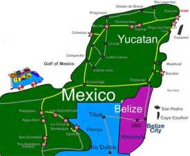 map of mexico yucatan region map of the yucatan region of mexico chichen itza temple of the warriors