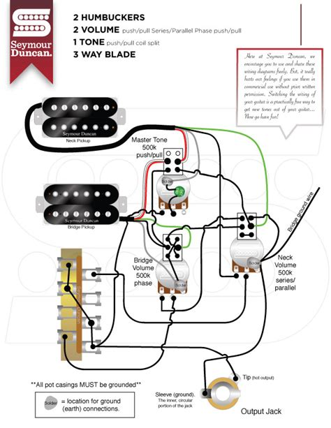 seymour duncan series parallel wiring diagram 45 wiring