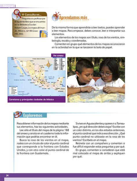 ciclo escolar centro de descargas libros de texto en la geografia libro de 4 grado sep geograf 237 a cuarto grado
