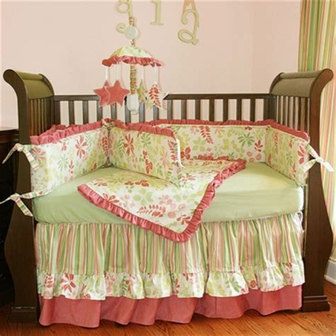 hoohobbers leaves 4 crib bedding set free shipping