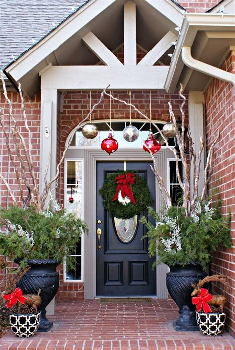 decorating front porch for christmas christmas decorating ideas for porch festival around the