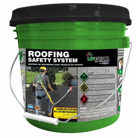 home depot paint guard werner roofing safety system k211201 the home depot