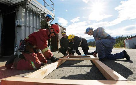 earthquake yukon yukon firefighters undergo earthquake response training