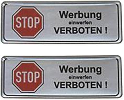 Keine Werbung Aufkleber Metall by Briefkasten G 252 Nstig Kaufen Lionshome