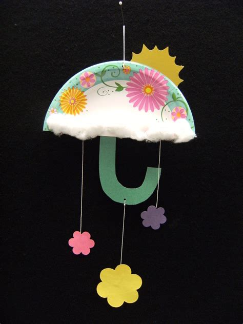 April Showers Craft Arts And Crafts