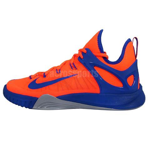orange and blue basketball shoes nike zoom hyperrev 2015 ep orange blue mens basketball