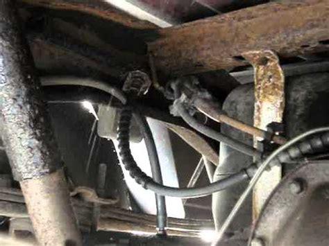 rusted brake line 1993 ford ranger youtube