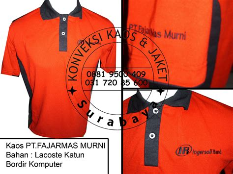 Kaos Kerah Berkerah Polo Shirt Bordir Seragam Komunitas 2 Titiktempat distributor kaos polo surabaya jual kaos polo asli jual