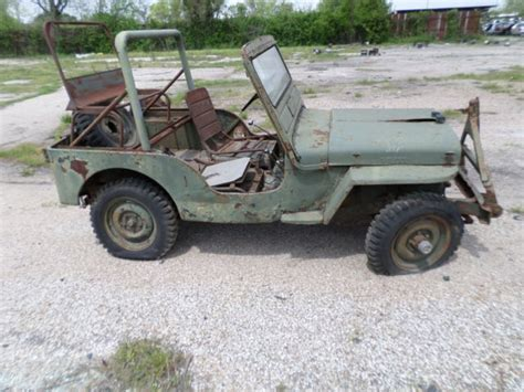 willys jeep truck green seller of cars 1951 willys jeep green green