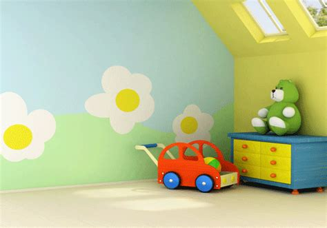colours for kids bedroom walls ideas for kids rooms yellow color for happy kids rooms decor