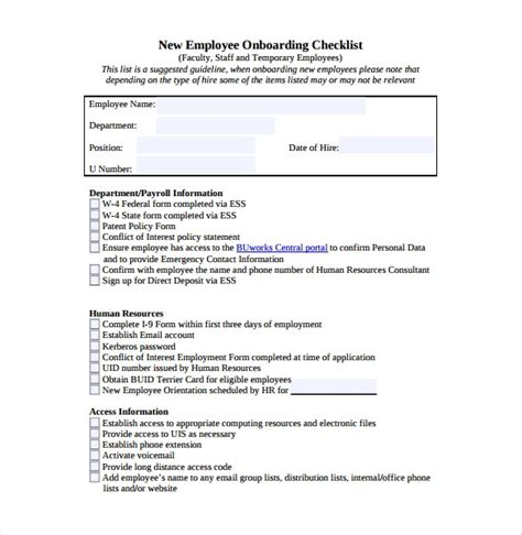 new hire checklist template in word excel apple pages numbers