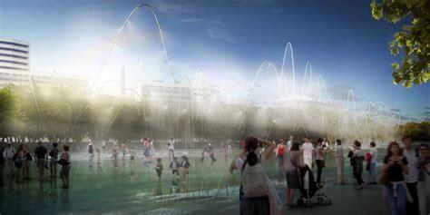 barcelona avenue lineal park welcome to guayaquil west 8 ontwerpt park op spoorlijn barcelona architectuur org