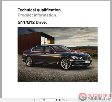 car owners manuals free downloads 2000 bmw 7 series engine control bmw 7 series g11 g12 2015 technical qualification auto repair manual forum heavy equipment