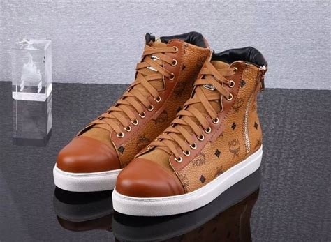 mcm mens sneakers mcm high tops shoes in 398646 for 89 40 wholesale