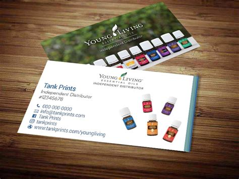 young living business cards yl business cards independent
