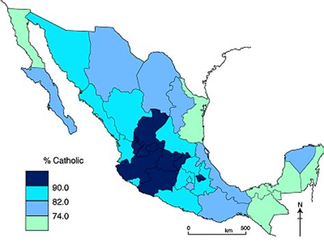 the pattern of catholicism in mexico geo mexico the