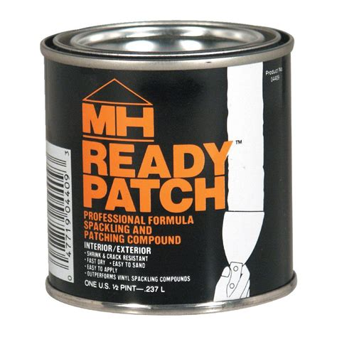 zinsser 1 2 pt ready patch spackling and patching