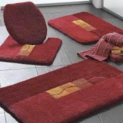 Luxury Bathroom Rug Sets Luxury Pile Motif Bathroom Mats By Witt Witt International