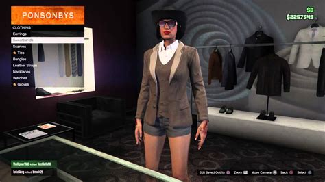 gta    female clothing   heist update