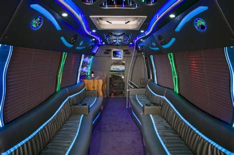 Limousine Interior Design by 2016 Customized Specialty Vehicles Stallion At Http