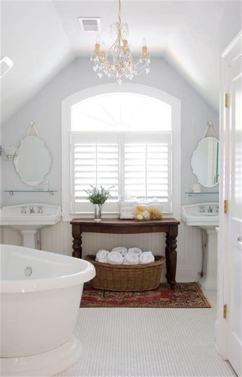 white rustic bathroom virginia highlands cottage traditional bathroom