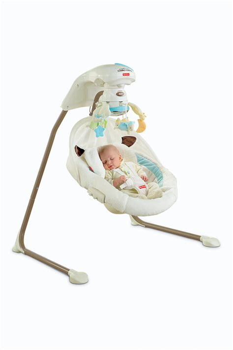 little lamb cradle and swing com fisher price cradle n swing with ac adapter
