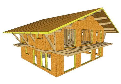 timber frame design using google sketchup sips cullen timber design