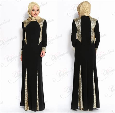 muslim long dress 2014 latest design ladies dresses fashion long sleeve chiffon