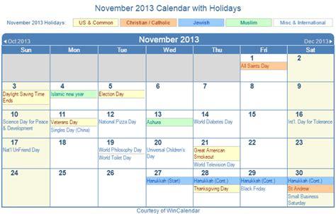 2013 Calendar With Holidays 2013 Calendar Calendar Template 2016