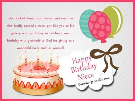 Happy Birthday Card For My Niece