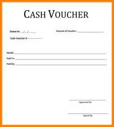 6 cash voucher format care giver resume