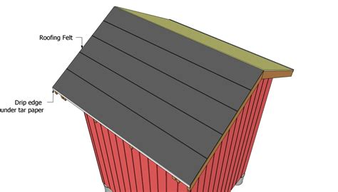 How To Make A Paper Roof - gable shed roof plans free outdoor plans diy shed