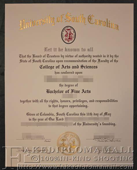 Of South Carolina Professional Mba Diploma by Bachelor Degree From Of South Carolina Where