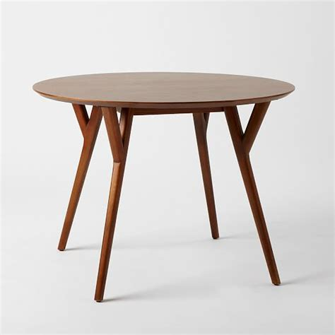 Mid Century Dining Room Table by Mid Century Round Dining Table West Elm