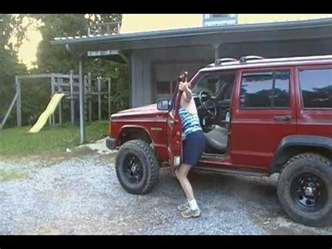 Removing Jeep Doors Jeep Door Removal