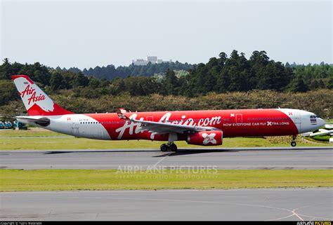 airasia narita terminal hs xtb airasia x airbus a330 300 at tokyo narita intl