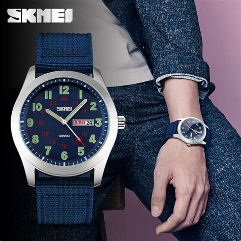 Jam Tangan Skmei Casual Army 30m 9112c Black skmei jam tangan analog pria 9112c black