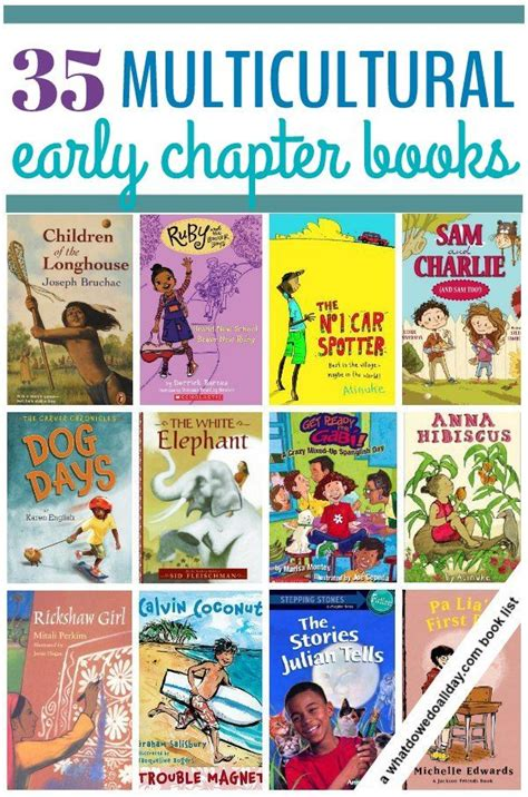 picture chapter books 35 multicultural early chapter books for
