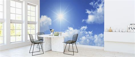 sunny sky affordable wall mural photowall