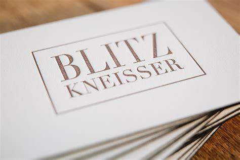 Visitenkarten Letterpress by Impressionen Haas Papierliebe Lettering