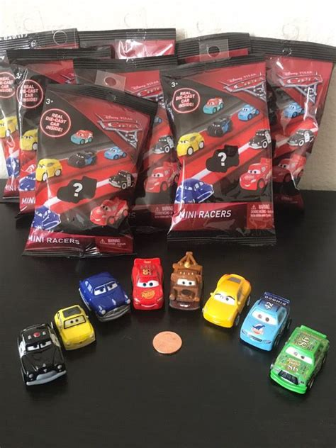 Cars 3 Mini Racer Blind Bag Fabulous Lightning Mcqueen 1 disney cars 3 mini racers die casts blind bags 8 mini racers toys in rock tx